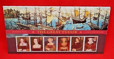 Royal Mail Stamps: The Great Tudor Henry Viii & Six Wives 1997 - A Set Of Seven!