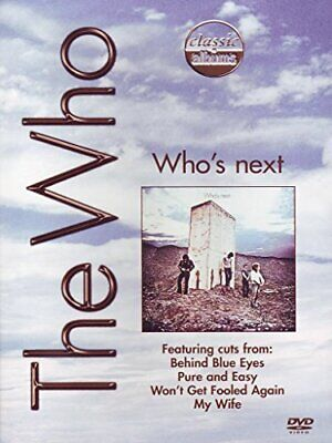 Who - Who's Next - Classic Albums [DVD] [2009] - Who CD 1HVG The Fast Free