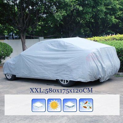 Waterproof Full Car Cover XXL Large Layer Breathable UV Protect Indoor Outdoor
