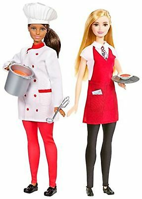 Barbie Friend Careers Chef & Waiter Doll Set