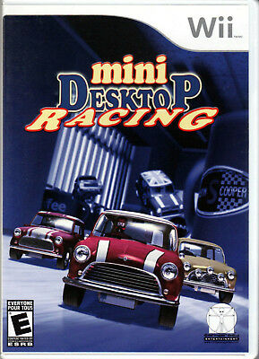 MINI DESKTOP RACING for NINTENDO Wii on CONSOLE a COMPLETE VIDEO GAME of COOPER!