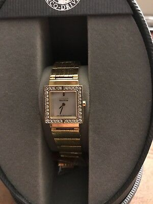 Citizen Eco-Drive Womens Watch Gold Never Worn
