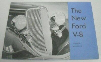 Ref. # 41868 Factory Photo 1933 Ford Converible Coupe