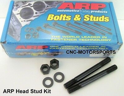 Arp Head Stud Kit 208-4304 Honda H22A4 Vtec 12 Point Nuts U/c Studs
