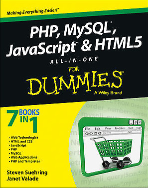[P..D..F]  PHP MYSQL Javascript & HTML all-in-one for dummies