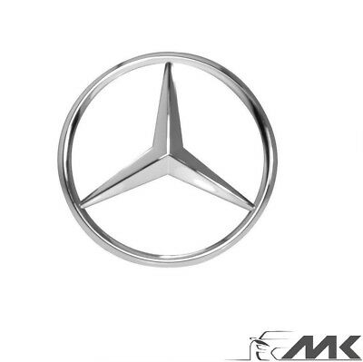 Mercedes-Benz Chrome Badge Logo Emblem front B,C,E,GLK,Vito 186mm 2078170016