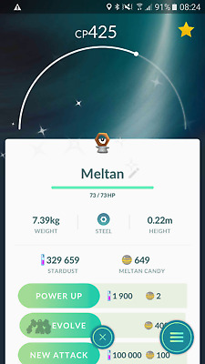Pokemon GO trade Shiny Meltan or Shiny Melmetal