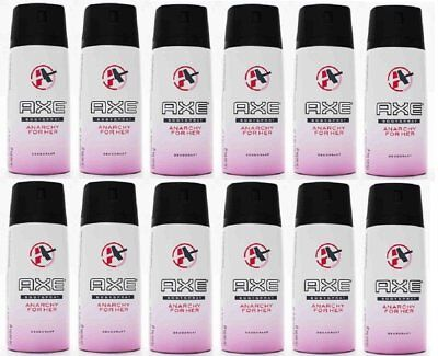 Axe Body Spray Deodorant Anarchy For Her 150 Ml (12 Pack)