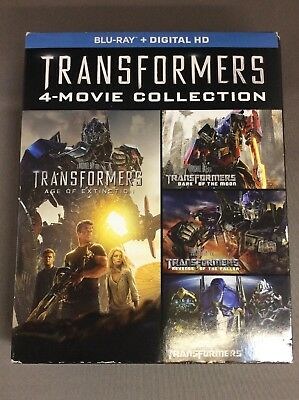 Transformers Complete 4-movie Collection(Blu-ray,5-Disc)G-1915-287-014