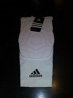 d1c2ff159c NWT Adidas Men's Techfit Basketball Padded Compression Knee Sleeve - White  XLT