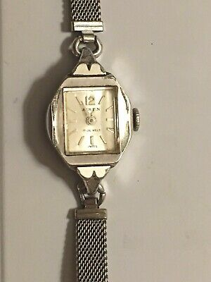 Vintage Swiss Movement Austin Mechanical Watch ~ NICE