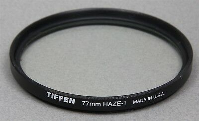 77mm Screw-In Filter TIFFEN UV HAZE-1 Protective Made in USA