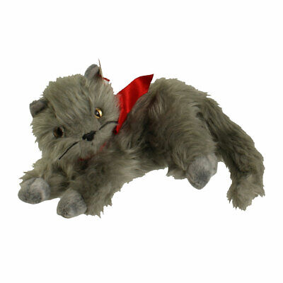 TY Beanie Baby - BEANI the Gray Cat (7 inch) - MWMTs Stuffed Animal Toy