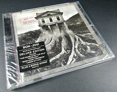 Bon Jovi - This House is Not for Sale - 2016 - CD - Deluxe Edition - NEW