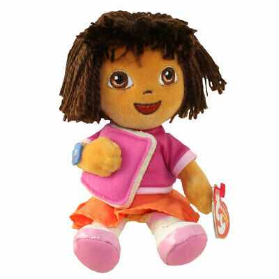 TY BEANIE BABY - DORA the Explorer (Back to School Version) (7 inch ... 64c9ab6c8502
