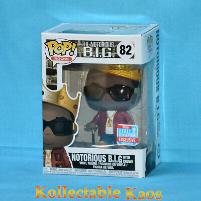 NYCC 2018 - The Notorious B.I.G. with Crown Pop! Vinyl Figure (RS) #82