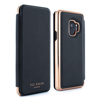 10fb92f9ad7736 OFFICIAL Ted Baker SHANOE Galaxy S9 Mirror Folio case Light weight case -  Black