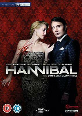 Hannibal - Season 3 [DVD], New, DVD, FREE & Fast Delivery