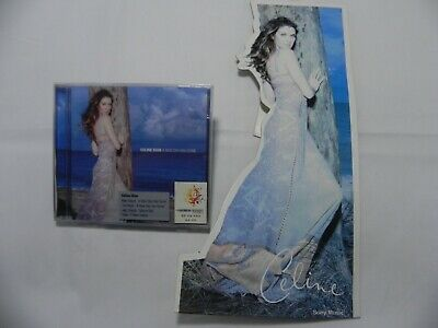 Celine Dion - A New Day Has Come Korea CD + Sony Music Promo Only Display / NEW
