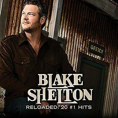 Reloaded: 20 #1 Hits, Blake Shelton, Audio CD, New, FREE & Fast Delivery