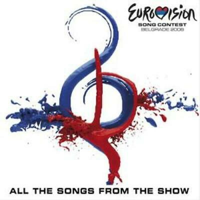 Various Artists : Eurovision Song Contest 2008 CD 2 discs (2008) Amazing Value