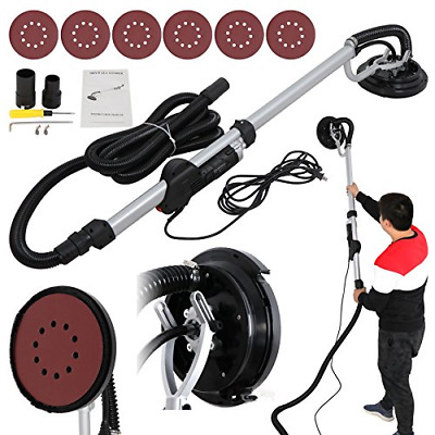 Drywall Sander 750 Watts Commercial Electric Variable Speed W/ 6 Round New