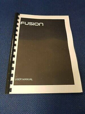 Go Pro Fusion Black Printed Instruction Manual User Guide 74 Pages A5