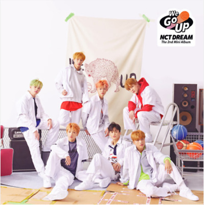 "K-POP NCT DREAM 2nd Mini Album ""We Go Up"" - 1 PHOTOBOOK + 1 CD Free Shipping"
