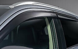 GENUINE MITSUBISHI OUTLANDER & PHEV 2014on SIDE WINDOW DEFLECTORS FRONT AND REAR