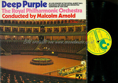 LP--Deep Purple  ‎– Concerto For Group And Orchestra / 0381575921 DE