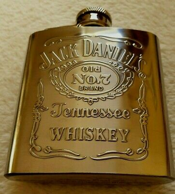 NEW Official Jack Daniels Whiskey Hip Flask