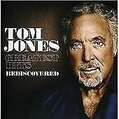 Greatest Hits Rediscovered, Tom Jones, New,  Audio CD, FREE & Fast Delivery