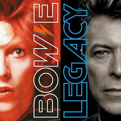 Legacy by David Bowie (CD, Nov-2016, 2 Discs, Columbia/Legacy) NEW