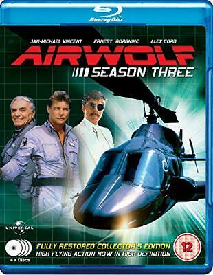 Airwolf - Complete Season 3 (4 Disc Box Set) [Blu-ray], DVD, New, FREE & Fast De