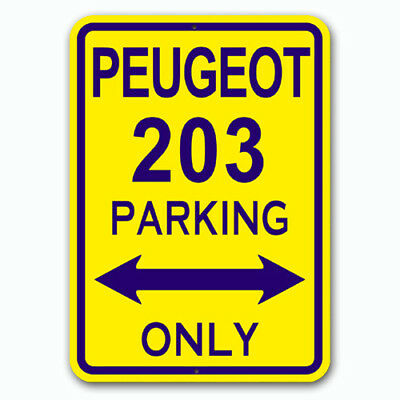 Peugeot 203 - Parking Only