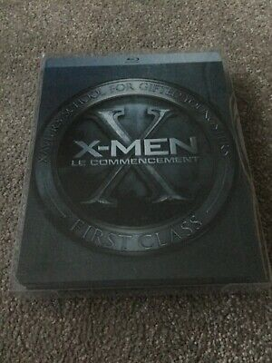 X-Men First Class / Le Commencement - French Region B Blu Ray & Dvd Steelbook