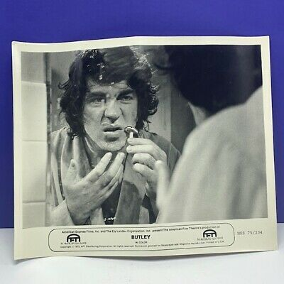 Lobby Card movie theater poster photo vintage Butley Alan Bates 1973 Tandy vtg 1