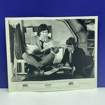 Lobby Card movie theater poster photo vintage Butley Alan Bates 1973 Tandy vtg 5