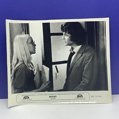 Lobby Card movie theater poster photo vintage Butley Alan Bates 1973 Tandy vtg 8