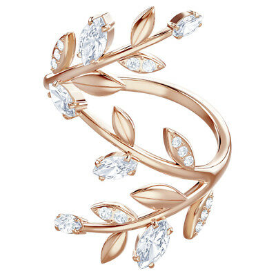 2e6d9a124 Mayfly Coil Ring White Rose Gold Size 6 Eur 52 2018 Swarovski Jewelry  5448883