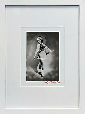 Cindy Sherman~Untilted Ice Skater 1979 ~Signed Gelatin Silver Print