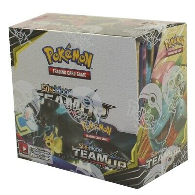 Pokemon Cards - Sun & Moon Team Up - Booster Box (36 Packs) - New Factory Sealed