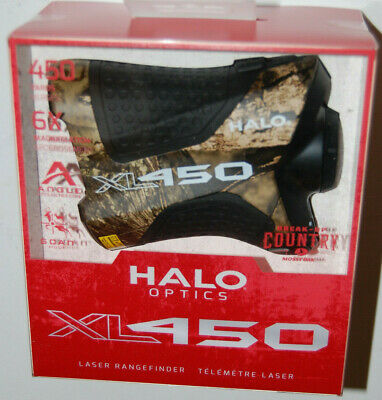 Halo Innovations XL450 Laser Rangefinder - Camo Mossy Oak Break-Up Country