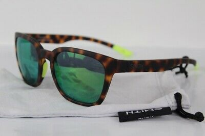 f5aedd36302b6 New Smith Founder Slim Sunglasses Matte Tortoise Neon Chromapop Sun Green  Mirror
