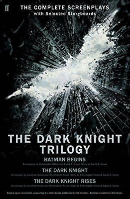 The Dark Knight Trilogy by Christopher Nolan, NEW Book, (Paperback) FREE & Fast