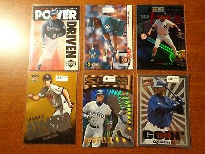 1996 Upper Deck Power Driven Ken Griffey Jr insert