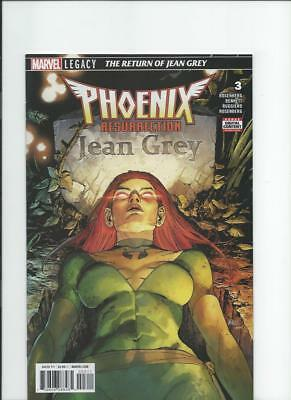 Marvel Comics Phoenix Resurrection Return of Jean Grey 3 NM-/M 2017