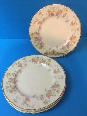 Syracuse Stansbury 4  BREAD & BUTTER  PLATES  Federal Shape Beautiful Fine China