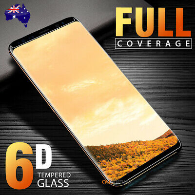 6D Samsung Galaxy S8/ S8 Plus S7 Edge Full Cover Tempered Glass Screen Protector