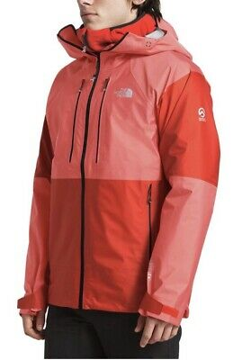 Nwt The North Face Men's Summit L5 Fuseform Gore-Tex C-Knitjacket Fiery Red